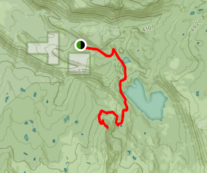 Marion Lake Trail to Marion Mountain Map