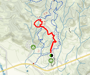Buena Vista Campground Trail Map