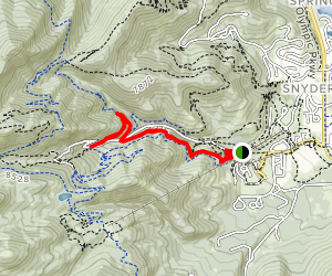 Holly's Trail  Map