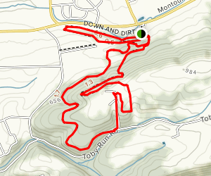 Down and Dirty Trail  Map