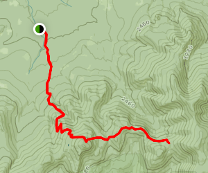 Galehead Hut via Mount Garfield Map