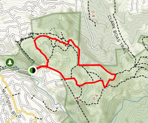 Bonitas Gate and Belgium Trail Loop Map