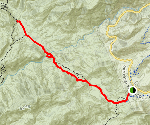 Sycamore Reservoir Trail Map
