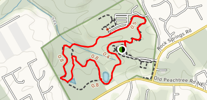 Rock Springs Park Trail Map