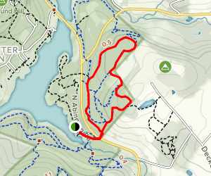 Abington, Turkey Hill, and Joey's Trail Loop Map