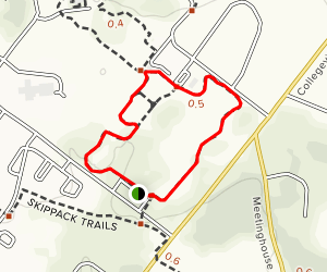 Skippack Trails: Inner Loop Map