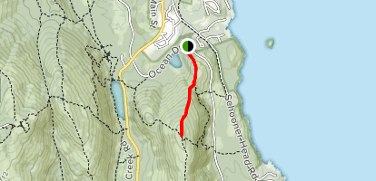 Champlain North Ridge Trail Map