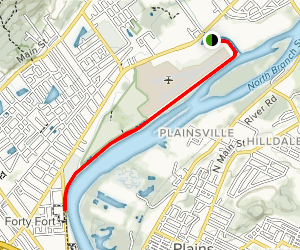 Luzerne County Levee Trail Map