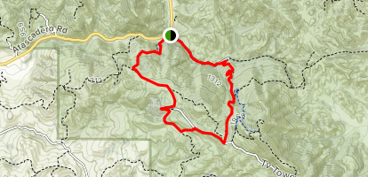 Boyscout and Bridge Loop Map
