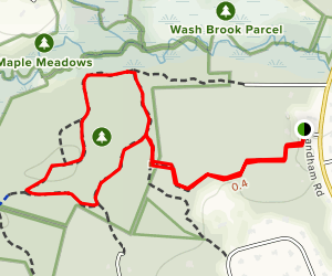 Landham Brook Marsh Trail Map