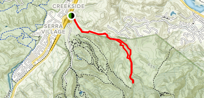 Marks Ranch Loop Map