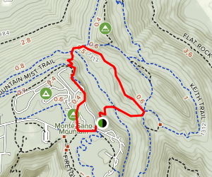 Sinks and North Plateau Loop Map