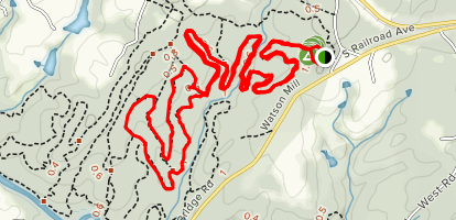 Horse Trail 8 (White), Horse Trail 4 (Brown), Horse Trail 3 (Gray), Horse Trail 4 (Brown) Map