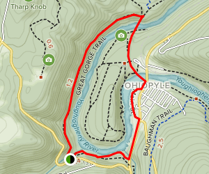 Great Gorge, Great Allegheny Passage Loop Map