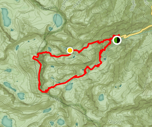Mount Whitney Loop Map
