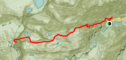 Mount Whitney Mountaineer's Route Map