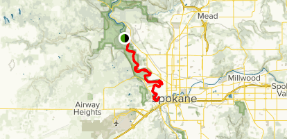 Trail 25 to Trail 100 Map