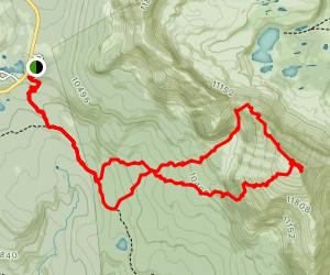 Mount Agassiz Loop Map