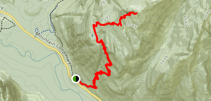 Mount Dickerman Trail Map
