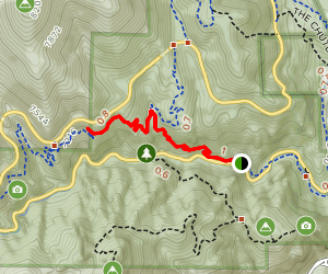 Middle Columbine Trail Map
