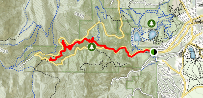 Columbine Trail Map