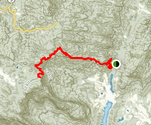 Weed Patch Mountain Trail Map