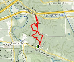 Buckeye Trail to Valley Bridle Trail Loop Map