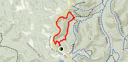 Mustang Trail Map