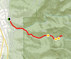 Deaf Smith Canyon South Trail [PRIVATE PROPERTY] Map