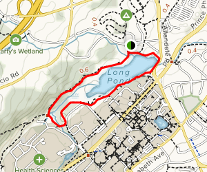 Long Pond Loop Map