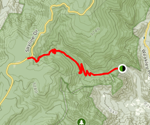 Rose River Fire Road  Map