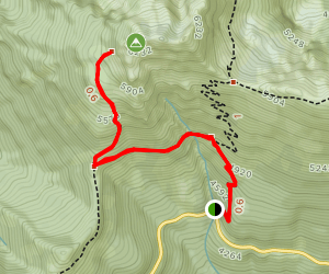 Mount Angeles via Switchback Trail Map