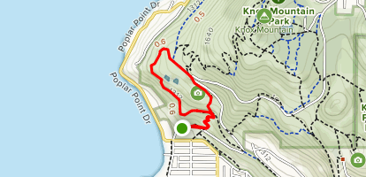 Lower Apex Trail Access Map