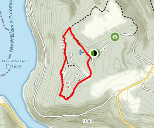 High Timber Trail to Sunset Trail Loop Map