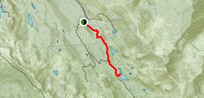 Skelton Lake Trail Map