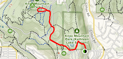 Simpson Trail to Boyce Loop Map