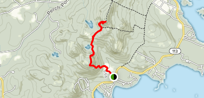 Mount Livermore and Cotton Mountain Trail Map