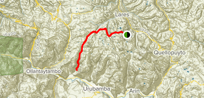 Lares Trek Map