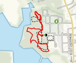 Lake Meade Park Loop Trail Map