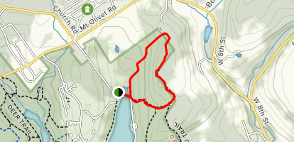 Larch Tree Trail Map