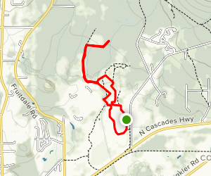 Northern State Recreation Area Loop Map