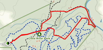 South River Loop Trail Map