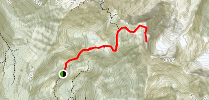 Lady Peak Trail Map