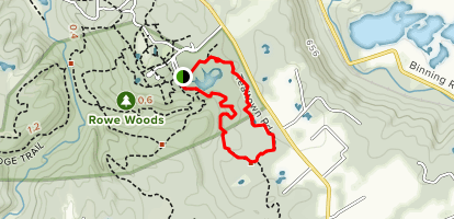 Whitetail Trace Map