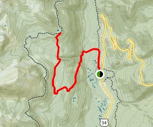 Red Mountain Trail Map