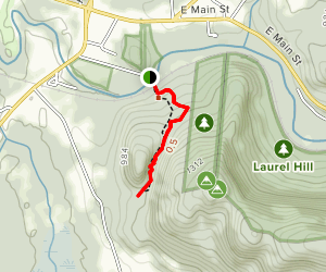 Ice Glen Trail Map