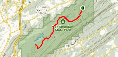 Foothills Trail Map