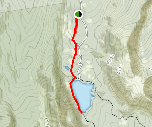 Trail to Storm Lake Map