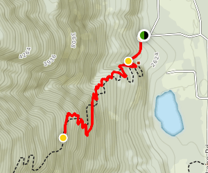 Bussard Mountain Trail Map