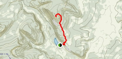 Selway Mountain Trail Map